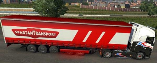 Spartan Transport trailer