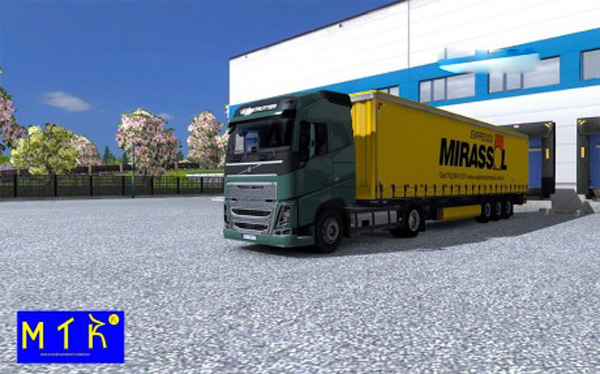 Trailer Mirassol Logistic