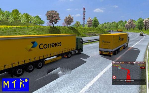 Trailer New Correios