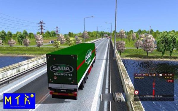 Trailer SADA Transportes