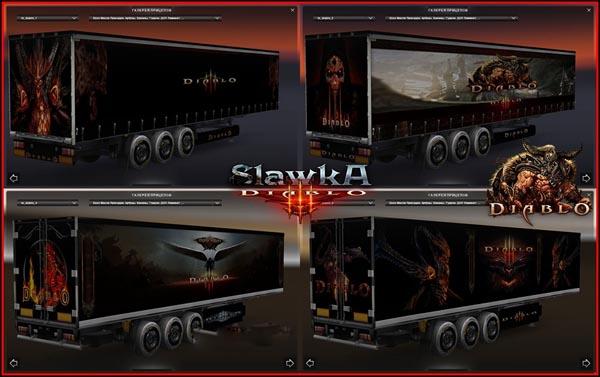 Trailers skinpack Diablo