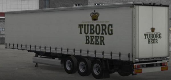 Tuborg Beer Trailer