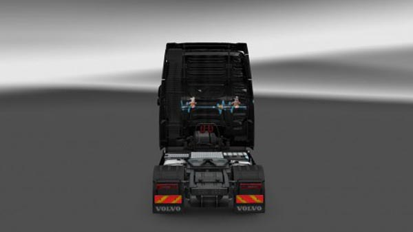 Volvo FH 2012 Duracell Skin