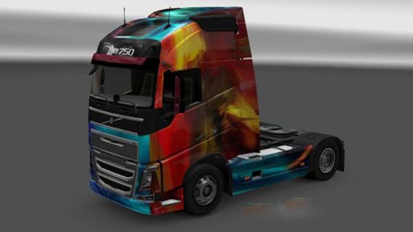 Volvo FH 2012 Paint Color