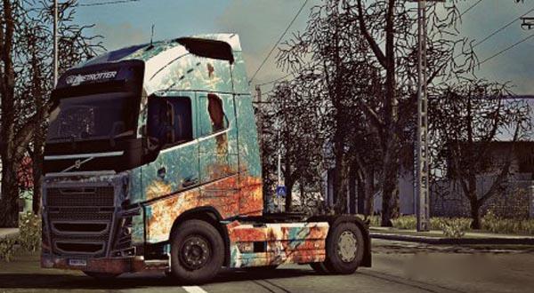 Volvo FH 2012 Rust Skin