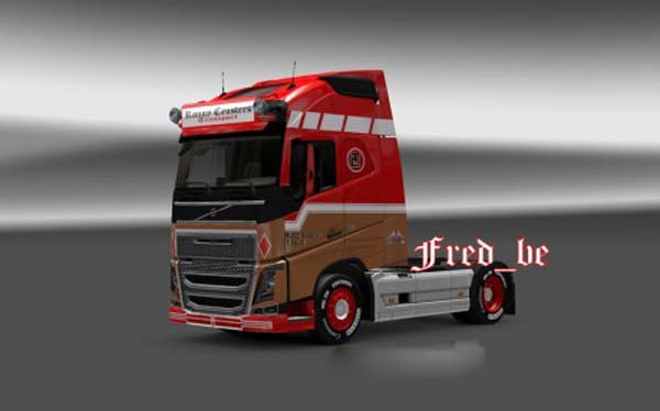 Volvo fh2012 Ronny Ceusters
