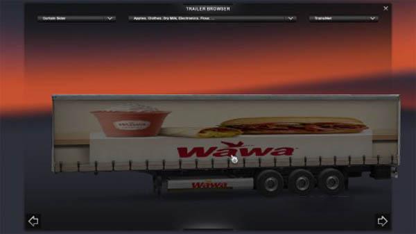 Wawa trailer skin