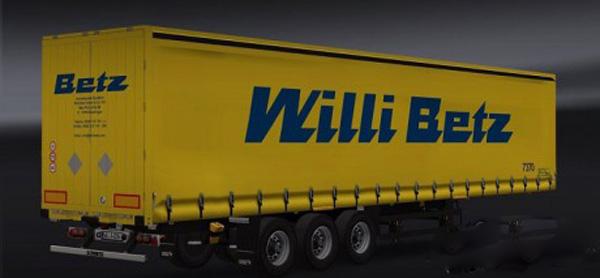 Willi Betz Combo Pack
