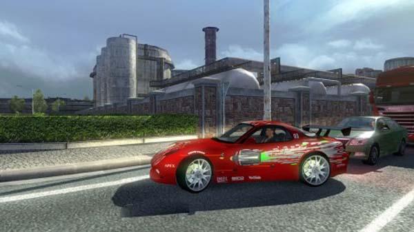 AI Traffic Mazda RX 7