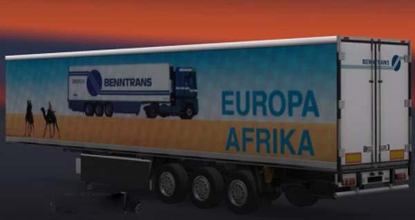 Benntrans Europa Africa Trailer
