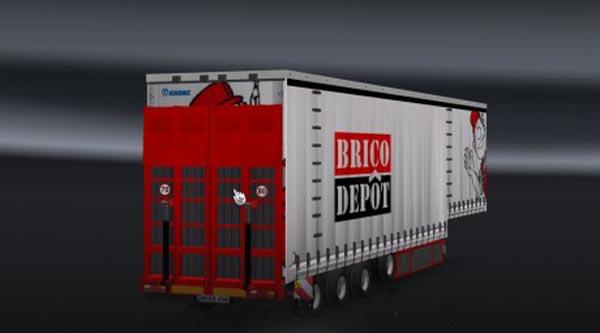 Brico Depot Trailer