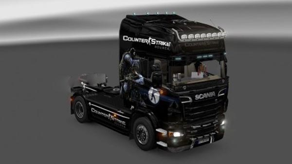 Counter-Strike Source skin for Scania R