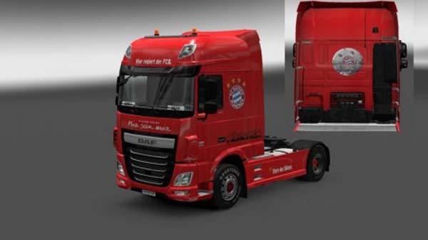 DAF XF Euro 6 FC Bayern Munich Skin