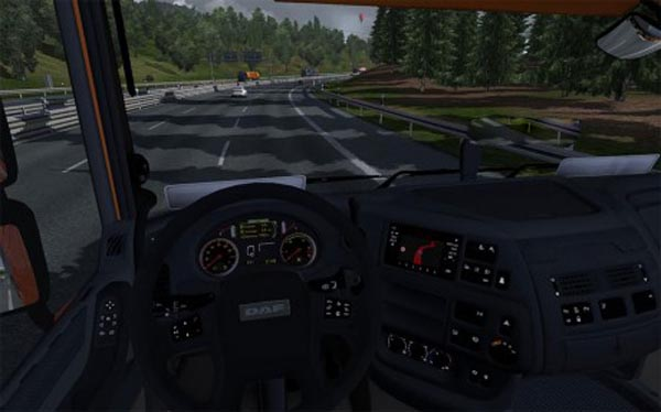 DAF XF Euro 6 Interior NaOm