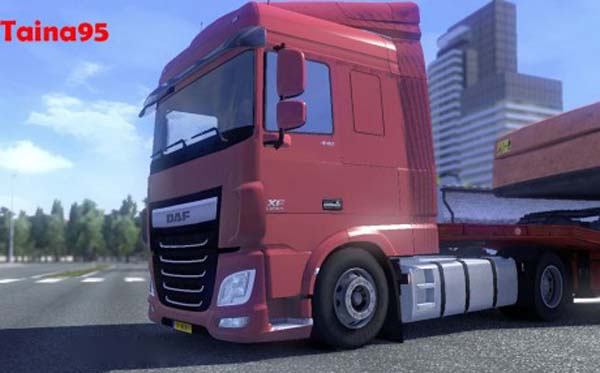 DAF XF Euro 6 Low Deck Chassis