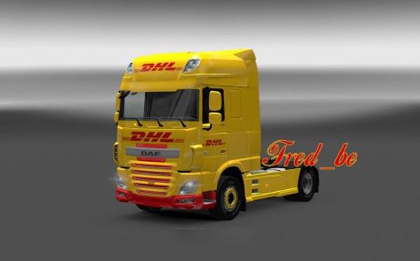 DAF XF Euro6 DHL