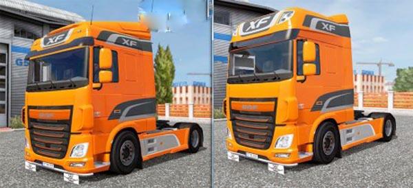 Daf E6 realistic skin