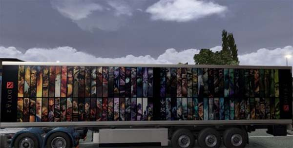 Dota 2 Heroes Trailer