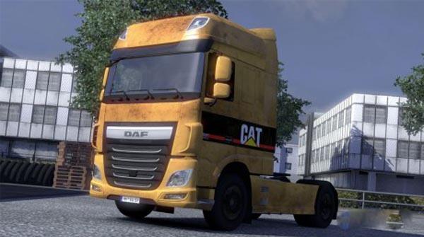 Dusty euro6 DAF skin