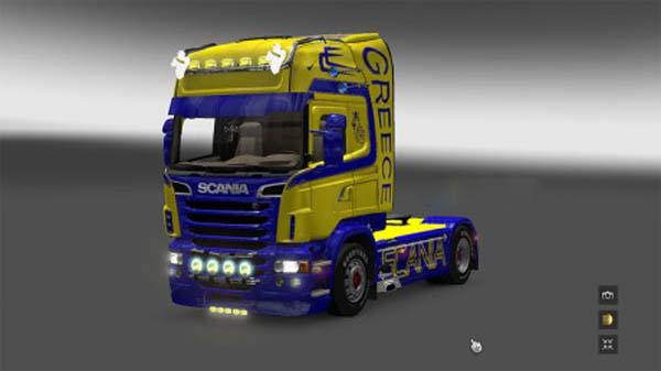 Greek Holland style Scania skin