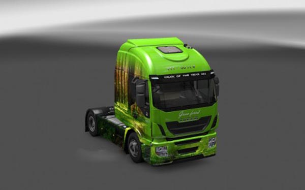 Iveco Hi-Way Green Forest