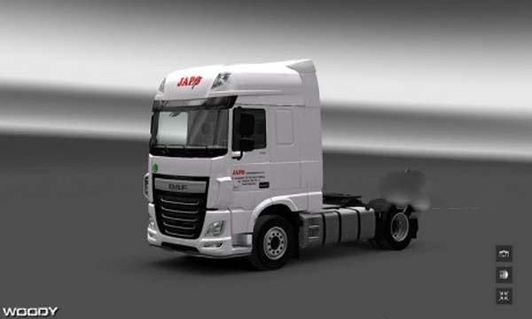 JAPO autodoprava skin for Daf XF euro6