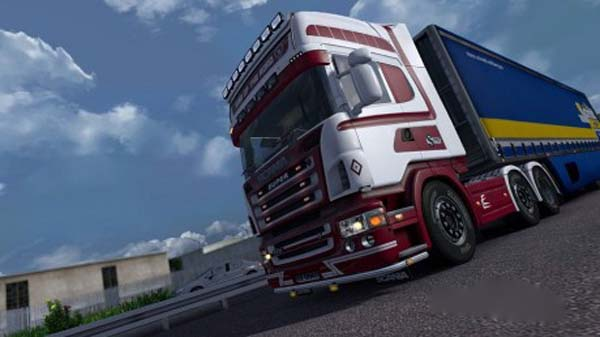 King Of The Road skin for Scania R2008