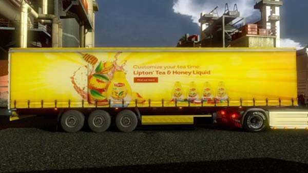 Lipton Tea Trailer