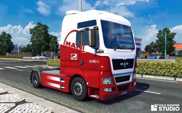 MAN TGX 2014 Euro 5 Extreme Edition