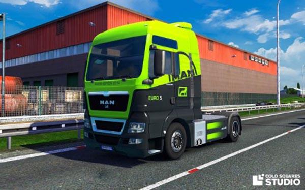 MAN TGX 2014 Euro 5 Razor Edition