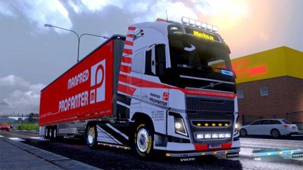 Manfred Profanter Combo Volvo