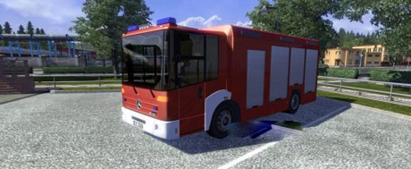 Mercedes Benz Econic AI Traffic Truck