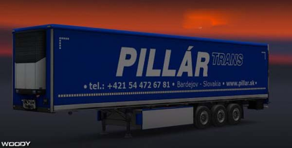 PILLAR TRANS skin for trailers
