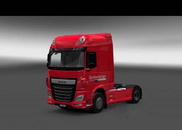 Quehenberger Logistics – DAF Euro 6 Paintjob