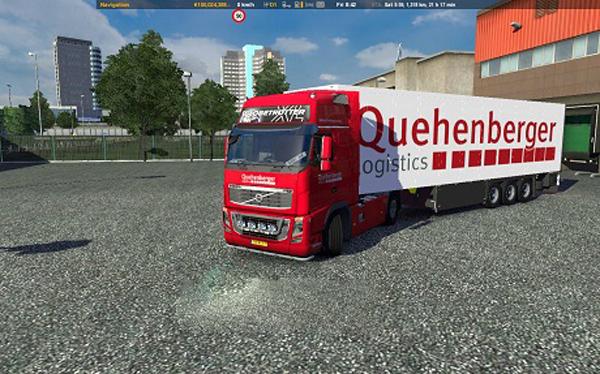 Quehenberger Logistics Combo Pack