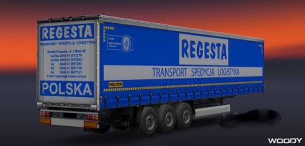 REGESTA trailer skin