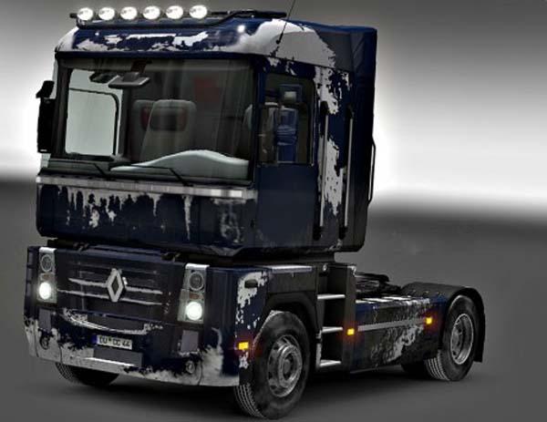 Renault Magnum Dirt Snow Skin