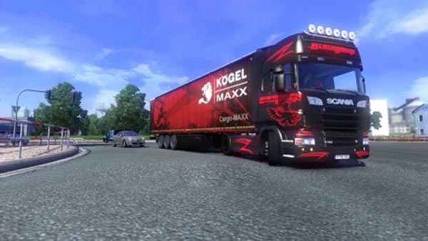 Scania Black Hawk Skin