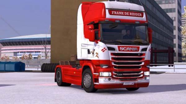 Scania Frank De Ridder Skin