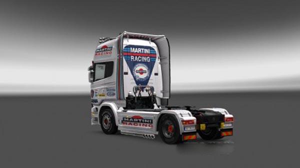 Scania Martini racing Pack