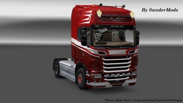 Scania R Jos Jansen transport skin