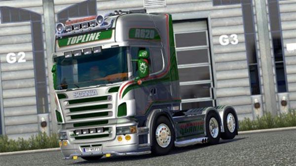 Scania R2008 Metallic Skin