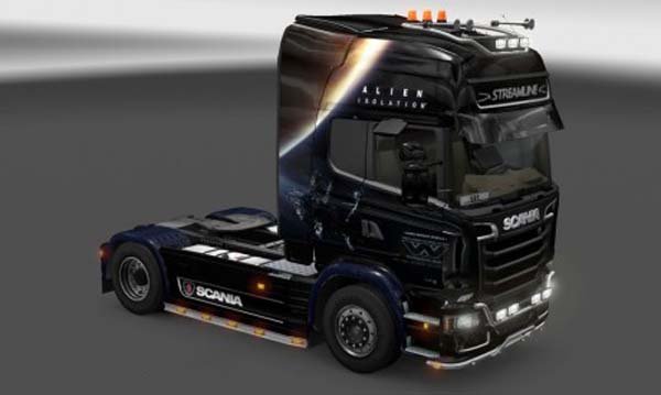 Scania Streamline Alien Isolation Skin