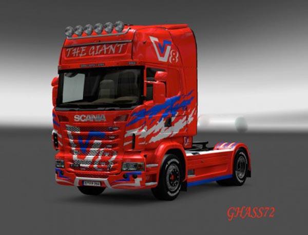 Scania V8 GIANT