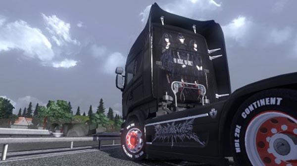 Scania streamline Babymetal V01 skin