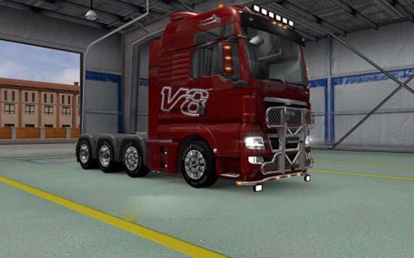 Skin MAN V8 Edition