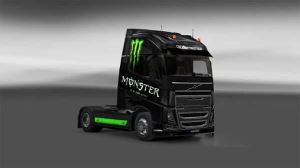 Skin Monster Energy Volvo FH16 2012