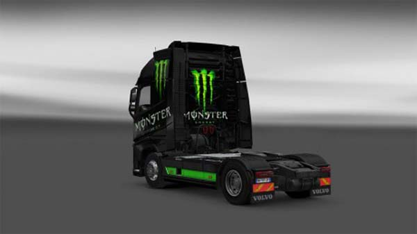 Skin Monster Energy Volvo FH16 2012