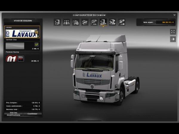 Skin Renault Premium Lavaux