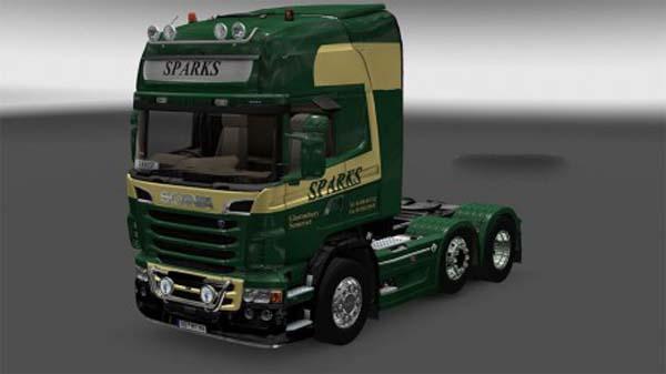 Sparks Scania Topline